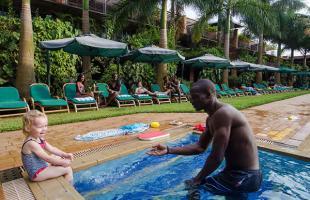 Kids solar Heated Swimming Pool